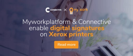 Sign electronically on Xerox printer