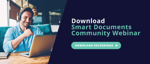Smart Documents Community Webinar