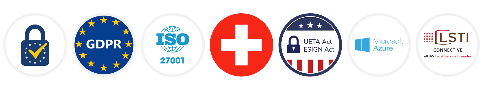 Compliancy logos