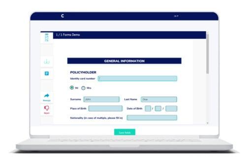 Connective eSignatures - Forms Feature