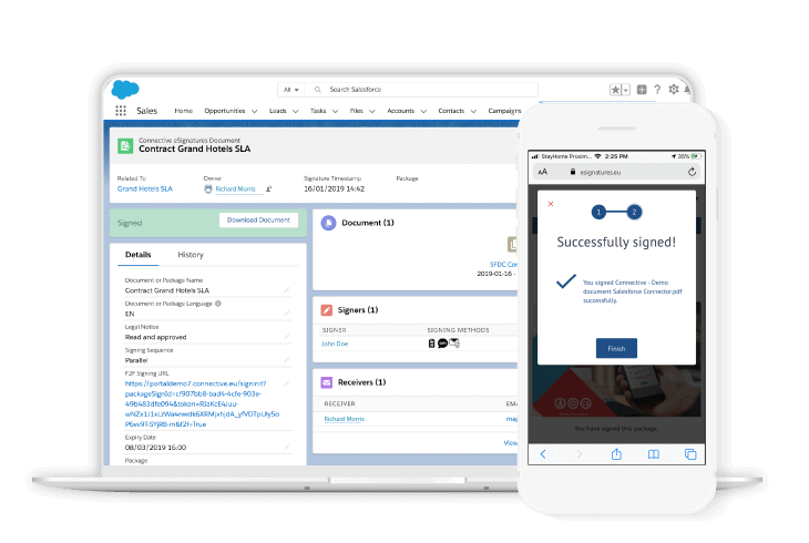 Sign documents salesforce