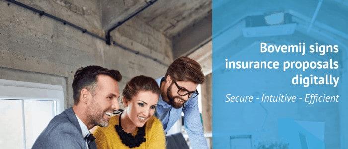 e-signatures for insurances expert Bovemij